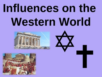 The Western World (10th Grade Intro Unit) EPIC 92-slide PPT