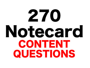 The Westing Game 270 Content Questions Whiteboard Game