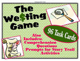 The Westing Game - 96 Task Card Activities