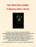 The Westing Game- A Mystery Menu Study