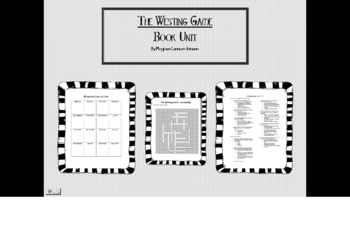The Westing Game Book Unit