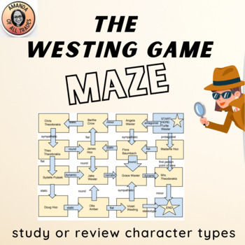 The Westing Game Character Types Game Maze