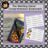 The Westing Game Comprehension Bookmark