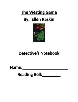 The Westing Game Detective's Notebook