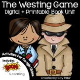 The Westing Game Novel Study Bundle: vocabulary, comprehension, writing, skills
