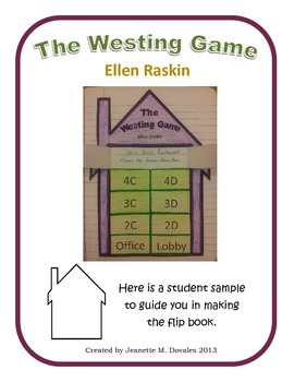 The Westing Game Flap Book