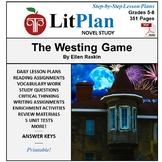 The Westing Game LitPlan Lesson Plans, Questions, Activiti