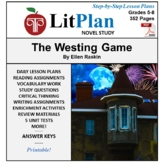 The Westing Game LitPlan Lesson Plans, Questions, Activiti