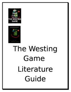 The Westing Game Literature Guide Part 2
