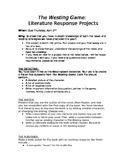 The Westing Game Literature Response Projects