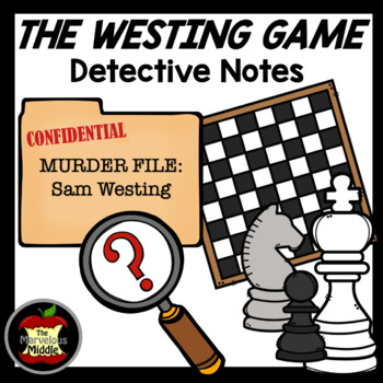 The Westing Game Novel Detective Notes