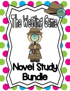 The Westing Game Novel Study **Bundle**