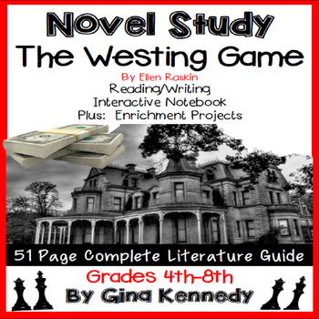 The Westing Game Novel Study & Enrichment Project Menu