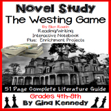 The Westing Game Novel Study & Enrichment Project Menu