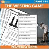 The Westing Game Mystery Novel Study Unit (Newbery Medal Winner)