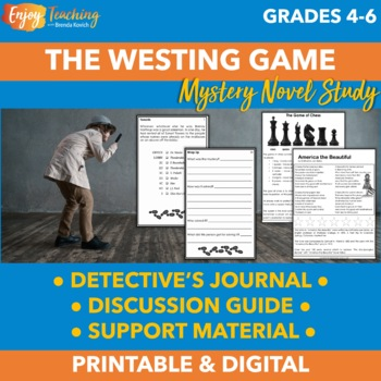 The Westing Game Activities - A Complete Novel Study
