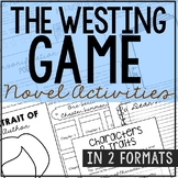THE WESTING GAME Novel Study Unit Activities | Creative Book Report