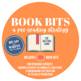The Westing Game Pre-Reading Activity- Book Bits