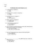 The Westing Game Quiz (Chapters 1-11)