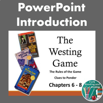 The Westing Game - Rules of the Game and Clues
