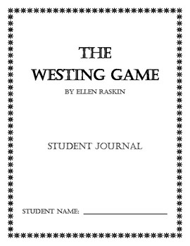 The Westing Game Student Journal