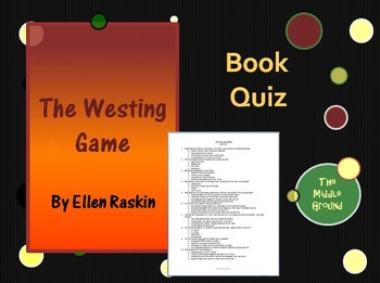 The Westing Game Whole Book Quiz / Book Test