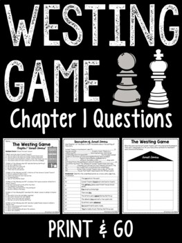 The Westing Game by Ellen Raskin Chapter 1 questions