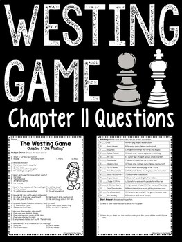 The Westing Game by Ellen Raskin Chapter 11 reading compre