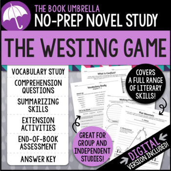 Printables The Westing Game Worksheets the westing game by thebookumbrella teachers pay game