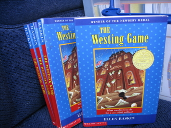 The Westing Game by Ellen Raskin (Set of 4)