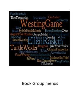 The Westing Game menus