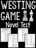 The Westing Game test- characters, quotes, location, multi