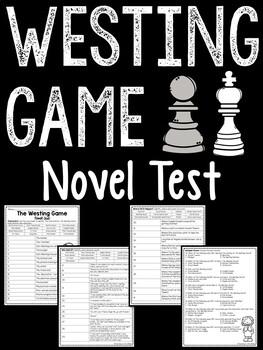 The Westing Game test- characters, quotes, location, multiple choice