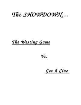 The Westing Game vs. Get A Clue: Book Vs. Movie
