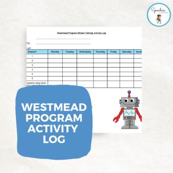 The Westmead Program for Stuttering: Robot Talking Activity Log