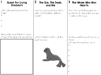The Whale Who Won Hearts Comprehension Papers