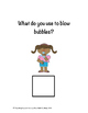 """The """"What"""" Question Book adapted/interactive book"""