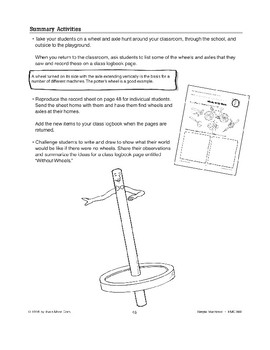 The Wheel and Axle Is a Simple Machine