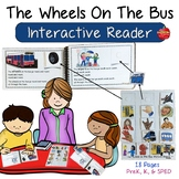 The Wheels On The Bus: Interactive Reader ~ Editable
