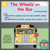 Interactive Book for Speech Therapy:  The Wheels on the Bus