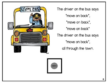 The Wheels on the Bus Adapted Book