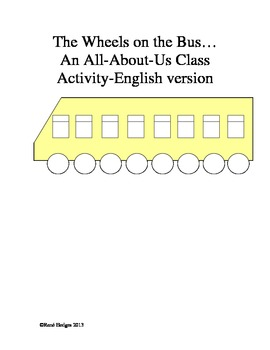 The Wheels on the Bus-An all-about-us class activity