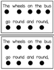 The Wheels on the Bus- An emergent reader for back to school