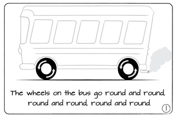 The Wheels on the Bus Easy Reader