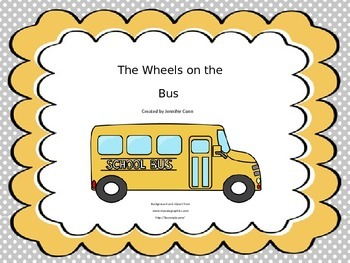 The Wheels on the Bus Vocal Explorations and Lyrics