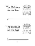 The Wheels on the Bus emergent reader song book with bus rules