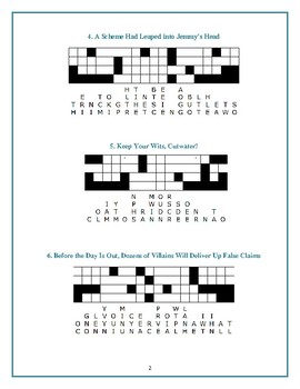 The Whipping Boy: 10 Quotefall Puzzles—Students love these puzzles!