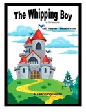 The Whipping Boy Novel Study Teaching Guide