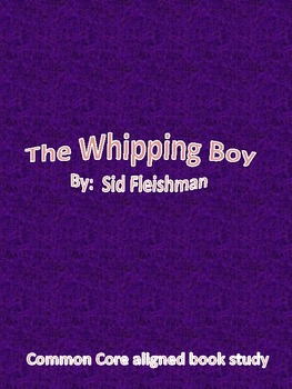The Whipping Boy-Book Study