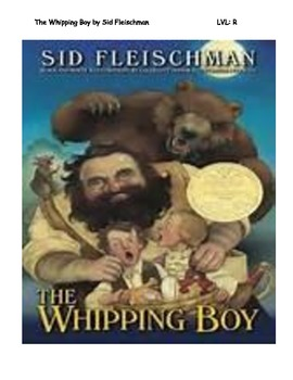 The Whipping Boy Chapter Summaries with Quesitons